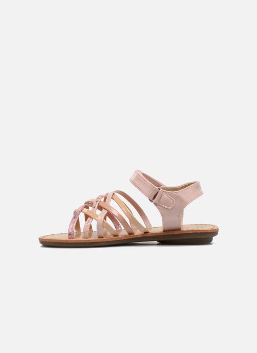 Sandalen NA! Farandol Roze voorkant