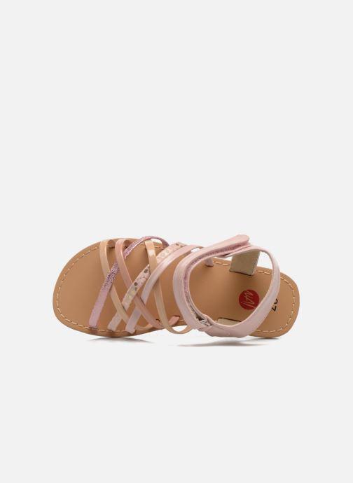 Sandales et nu-pieds NA! Farandol Rose vue gauche