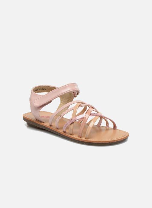 Sandales et nu-pieds NA! Farandol Rose vue détail/paire
