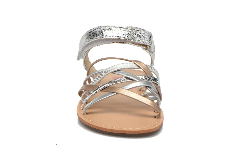Sandalen NA! Farandol silber schuhe getragen