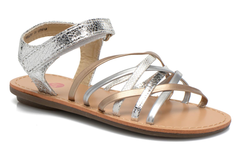 Sandals NA! Farandol Silver detailed view/ Pair view