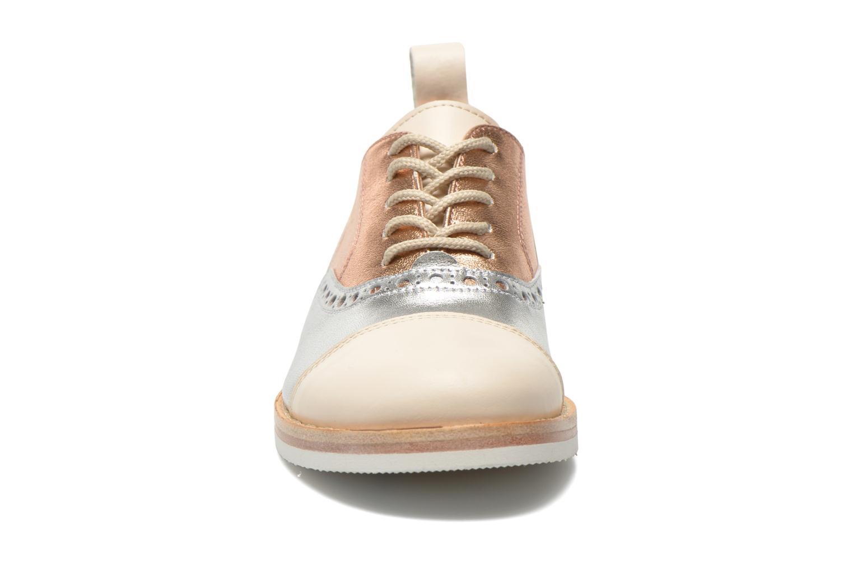Lace-up shoes PèPè Alexandra Silver model view