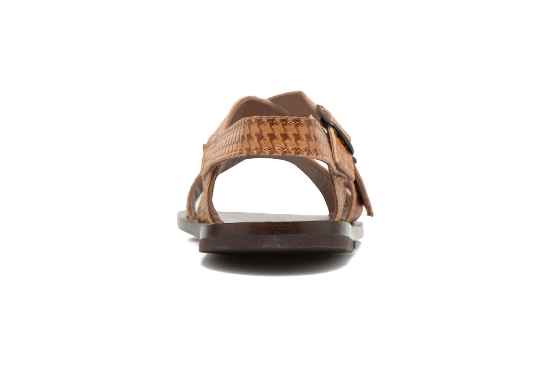 Sandales et nu-pieds PèPè Tina Marron vue droite