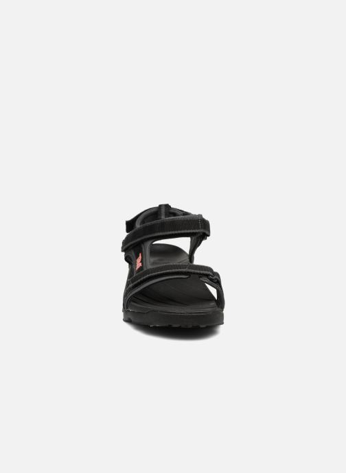 Sandali e scarpe aperte Teva Tanza Kids Nero modello indossato
