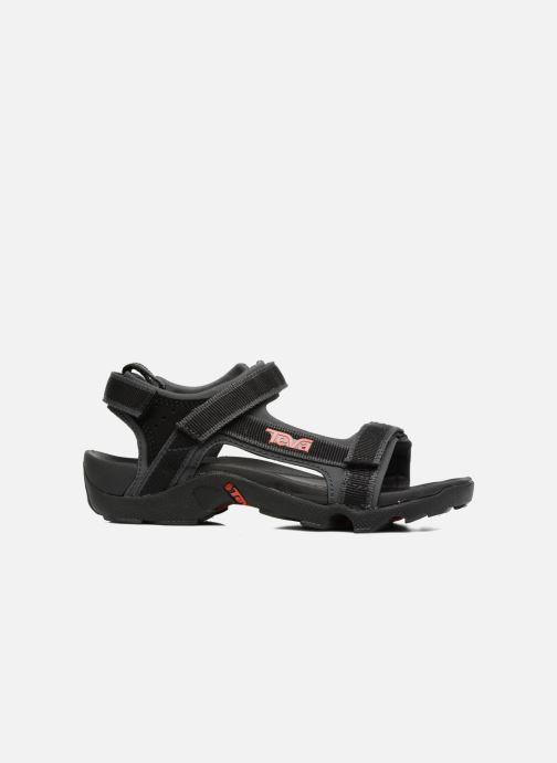 Sandali e scarpe aperte Teva Tanza Kids Nero immagine posteriore