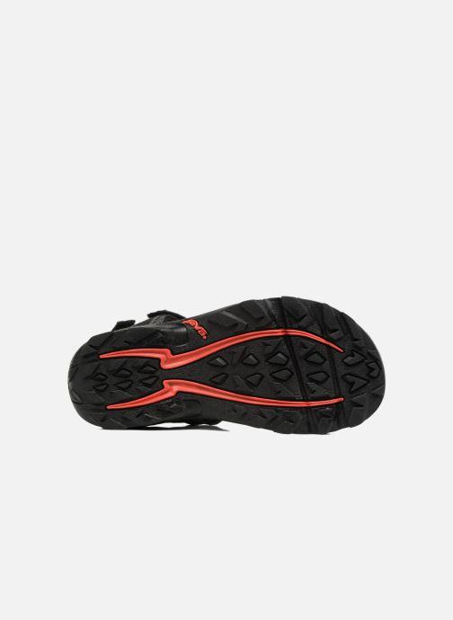 Sandali e scarpe aperte Teva Tanza Kids Nero immagine dall'alto