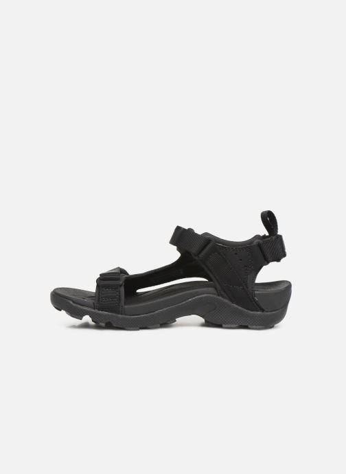 Sandales et nu-pieds Teva Tanza Kids Noir vue face