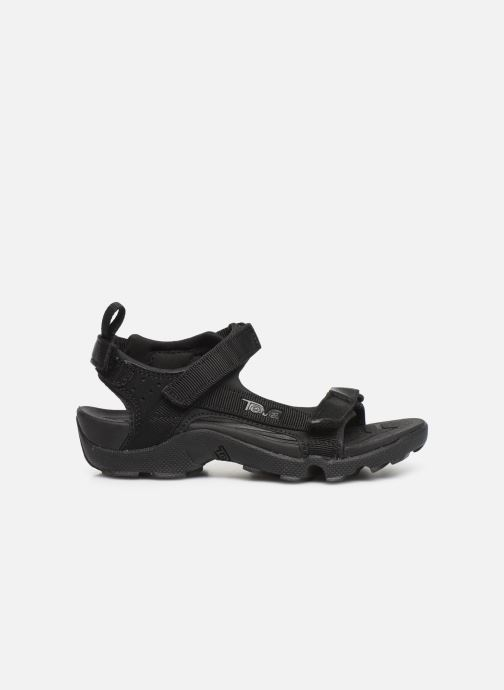 Sandales et nu-pieds Teva Tanza Kids Noir vue derrière