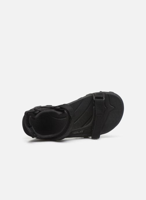 Sandales et nu-pieds Teva Tanza Kids Noir vue gauche
