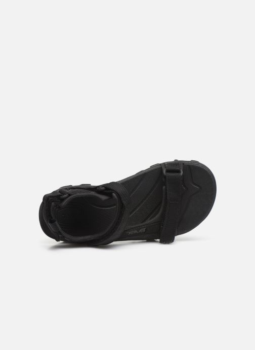 Sandals Teva Tanza Kids Black view from the left