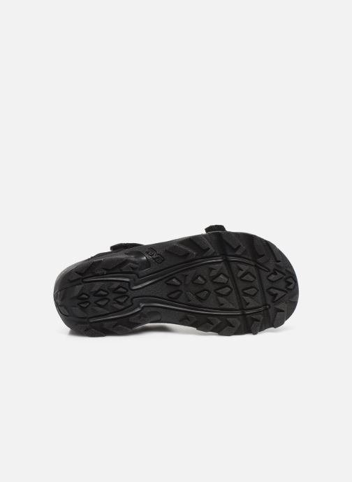 Sandals Teva Tanza Kids Black view from above
