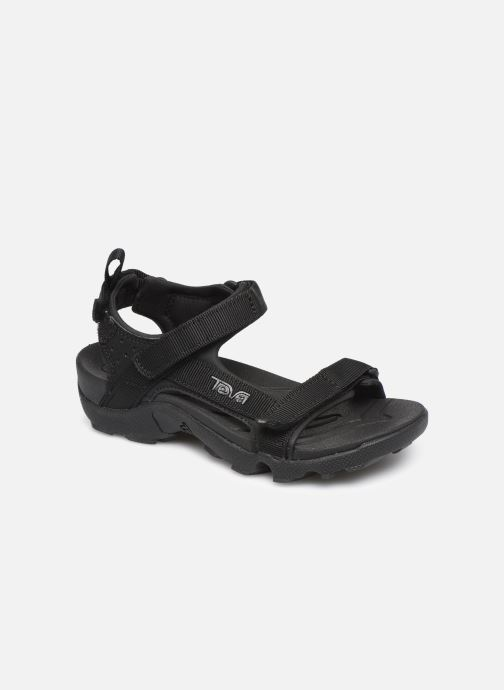 Sandals Teva Tanza Kids Black detailed view/ Pair view