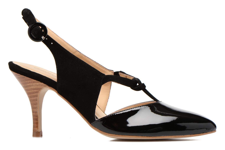 High heels Georgia Rose Riva Black back view