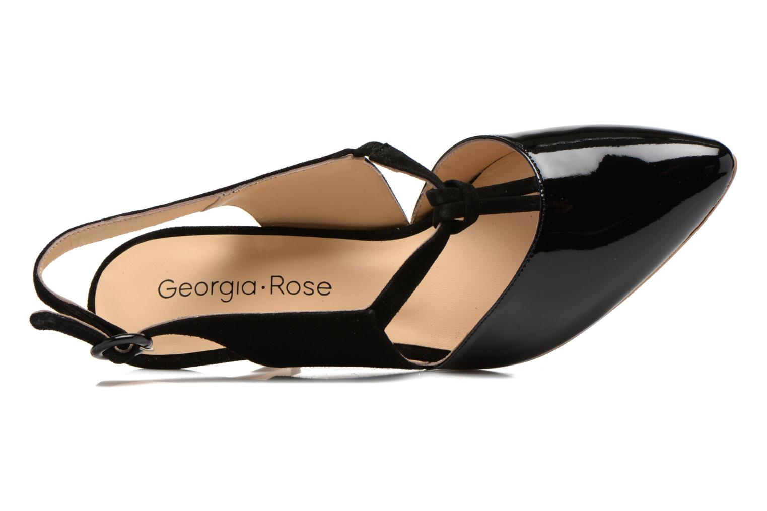 High heels Georgia Rose Riva Black view from the left