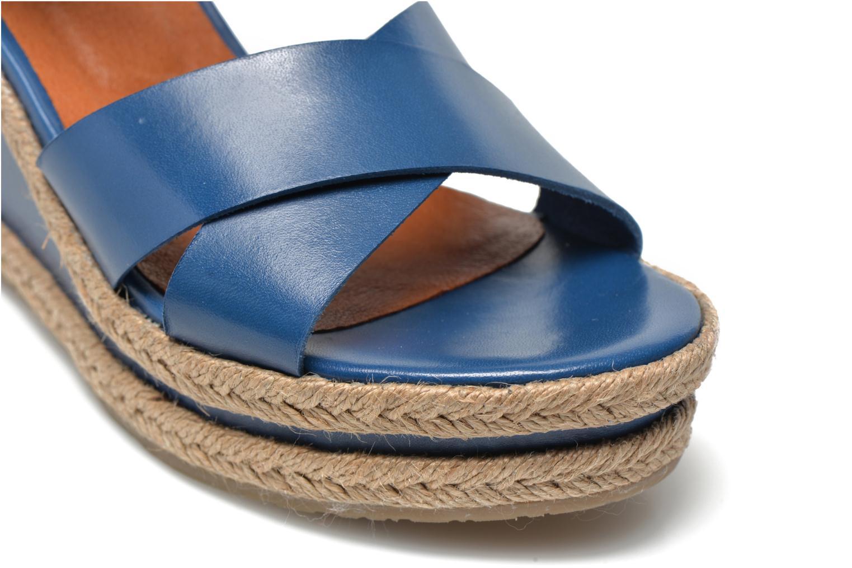 Sandales et nu-pieds Made by SARENZA Menthe Hello #20 Bleu vue derrière