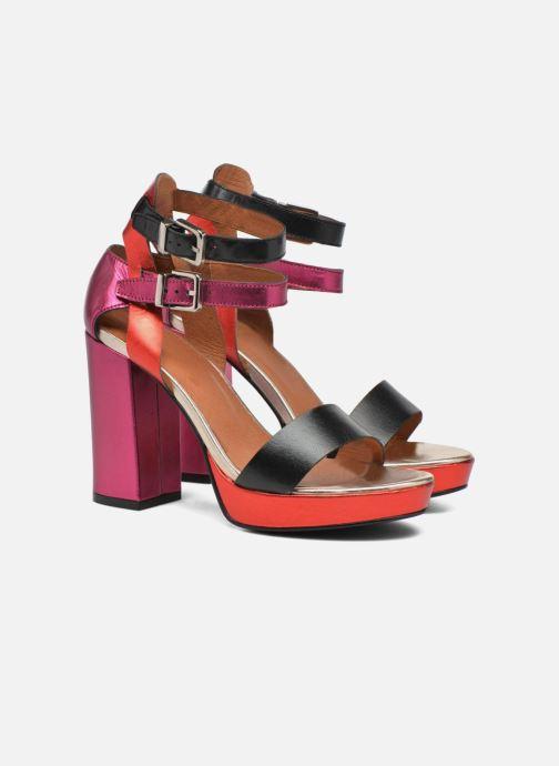 Sandales et nu-pieds Made by SARENZA Glossy Cindy #12 Multicolore vue derrière