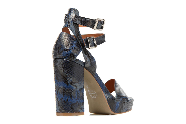Sandalias Made by SARENZA Glossy Cindy #12 Azul vista de frente