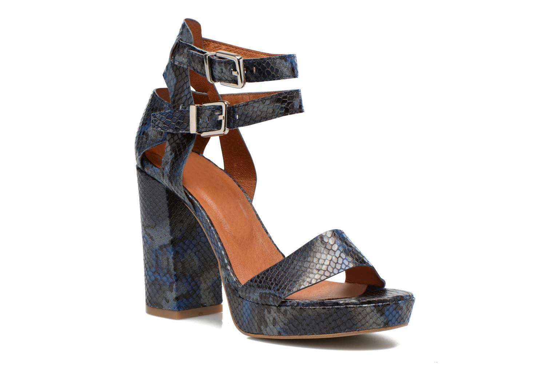 Sandalias Made by SARENZA Glossy Cindy #12 Azul vista lateral derecha