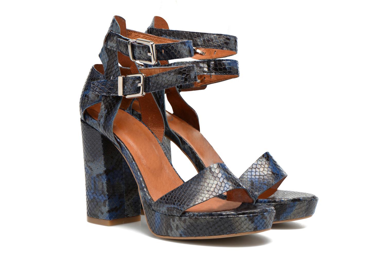 Sandalias Made by SARENZA Glossy Cindy #12 Azul vistra trasera