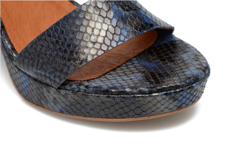 Sandalias Made by SARENZA Glossy Cindy #12 Azul vista lateral izquierda
