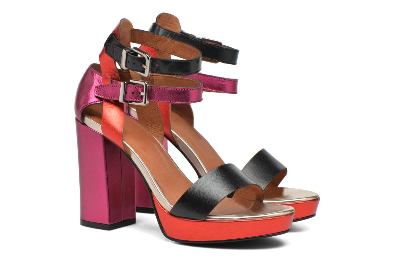 Sandalias Made by SARENZA Glossy Cindy #12 Multicolor vistra trasera