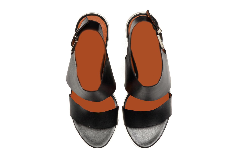 Sandales et nu-pieds Made by SARENZA Menthe Hello #14 Noir vue portées chaussures
