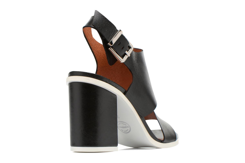 Sandales et nu-pieds Made by SARENZA Menthe Hello #14 Noir vue face