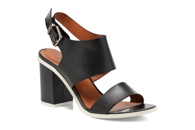 Sandales et nu-pieds Made by SARENZA Menthe Hello #14 Noir vue droite