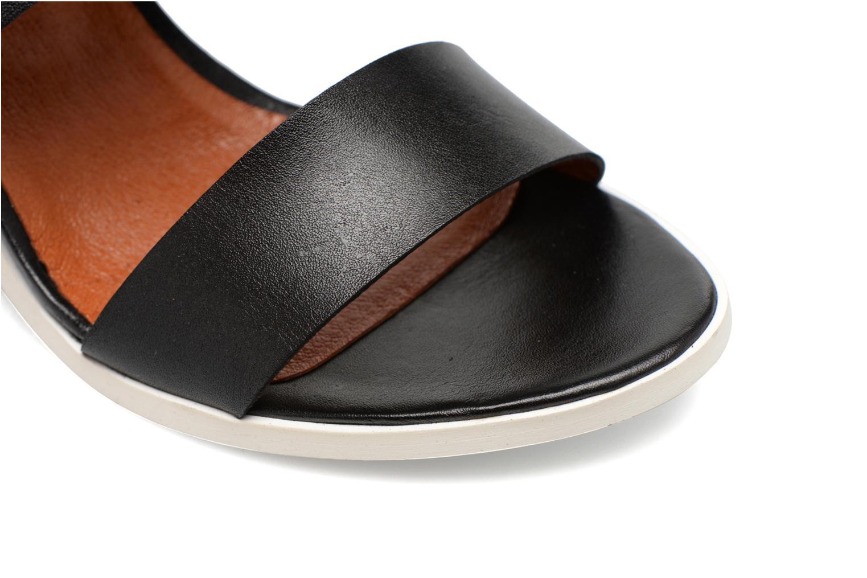 Sandales et nu-pieds Made by SARENZA Menthe Hello #14 Noir vue gauche