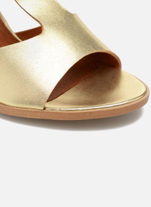Sandalias Made by SARENZA Square Simone#3 Oro y bronce vista lateral izquierda