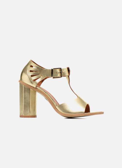 Sandalias Made by SARENZA Square Simone#3 Oro y bronce vista de detalle / par