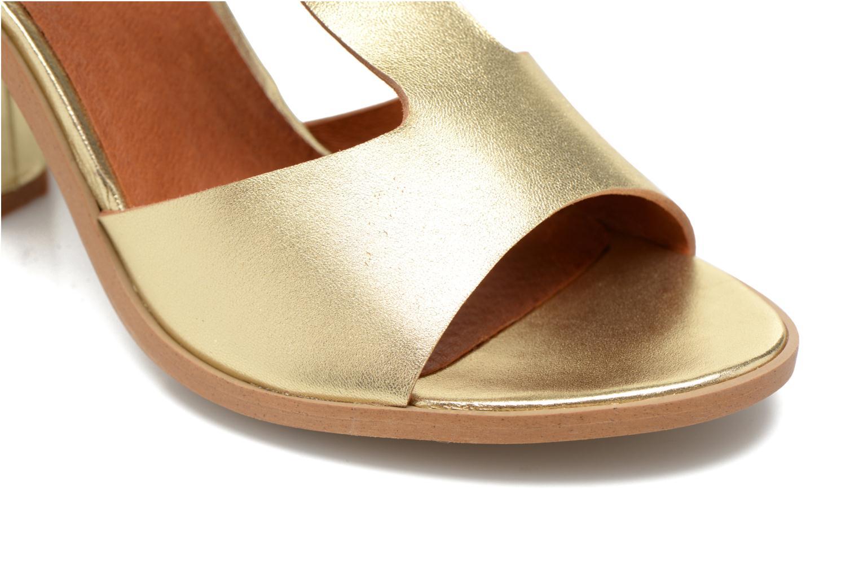 Sandales et nu-pieds Made by SARENZA Square Simone#3 Or et bronze vue gauche