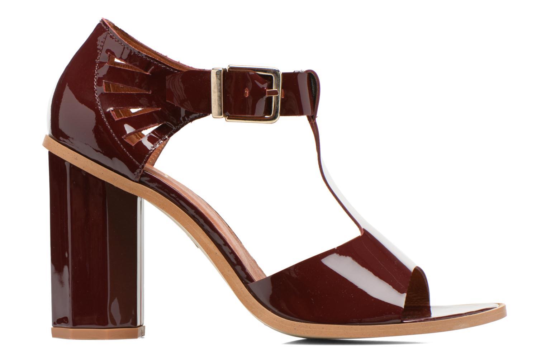 Sandales et nu-pieds Made by SARENZA Square Simone#3 Bordeaux vue détail/paire