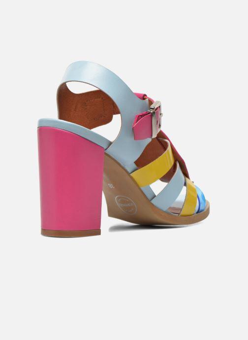 Sandales et nu-pieds Made by SARENZA Menthe Hello #16 Multicolore vue portées chaussures