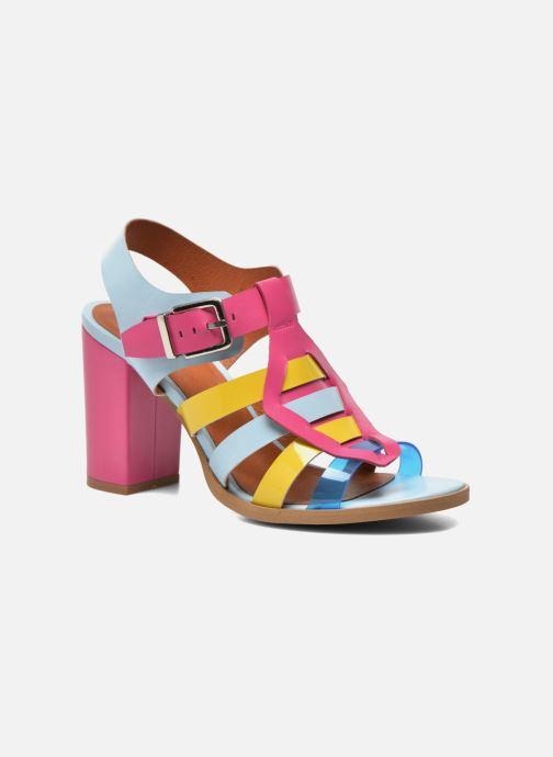 Sandales et nu-pieds Made by SARENZA Menthe Hello #16 Multicolore vue face