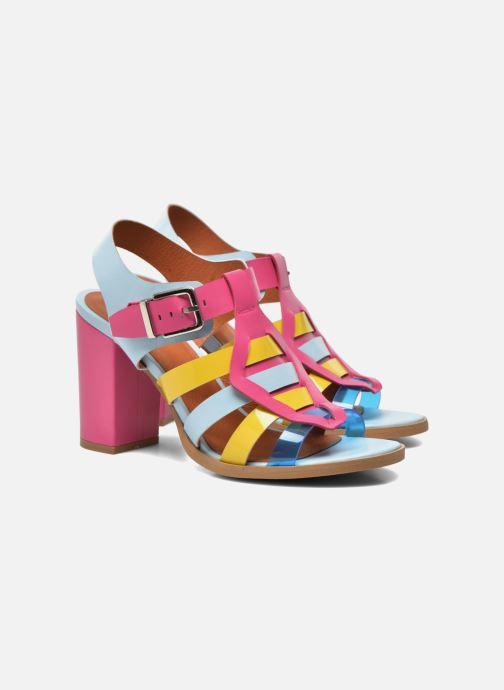 Sandalias Made by SARENZA Menthe Hello #16 Multicolor vista lateral derecha