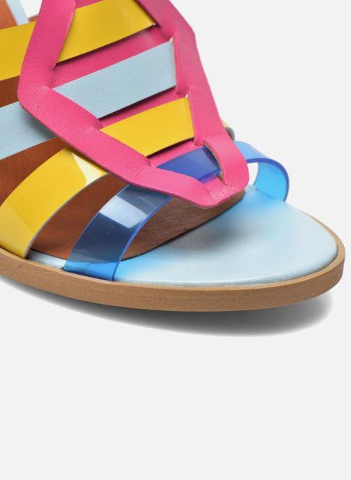 Sandales et nu-pieds Made by SARENZA Menthe Hello #16 Multicolore vue derrière