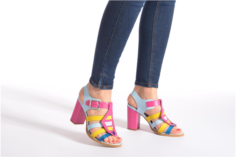 Sandali e scarpe aperte Made by SARENZA Menthe Hello #16 Multicolore immagine dal basso