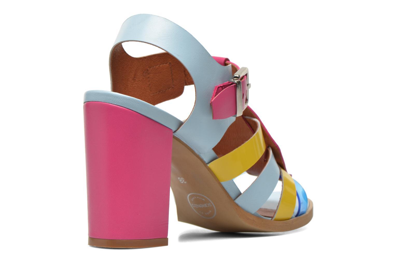 Sandali e scarpe aperte Made by SARENZA Menthe Hello #16 Multicolore modello indossato