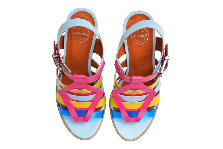 Sandali e scarpe aperte Made by SARENZA Menthe Hello #16 Multicolore immagine dall'alto