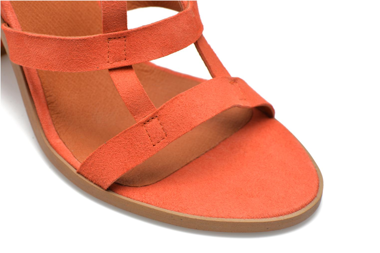 Sandalen Made by SARENZA Square Simone#7 Oranje achterkant