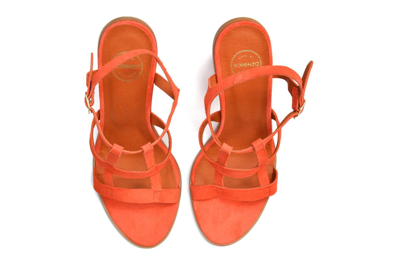 Sandalen Made by SARENZA Square Simone#7 Oranje boven