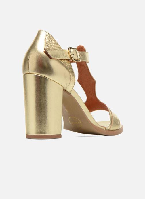 Sandalias Made by SARENZA Discow Girl #7 Oro y bronce vista de frente