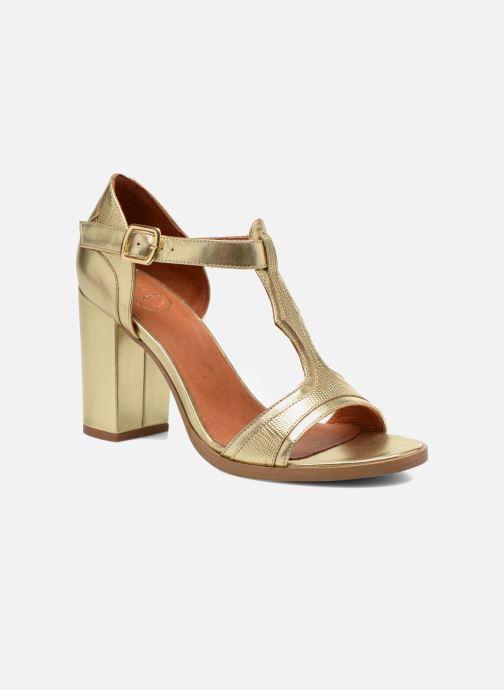 Sandalias Made by SARENZA Discow Girl #7 Oro y bronce vista lateral derecha