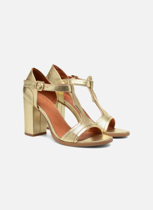 Sandalias Made by SARENZA Discow Girl #7 Oro y bronce vistra trasera