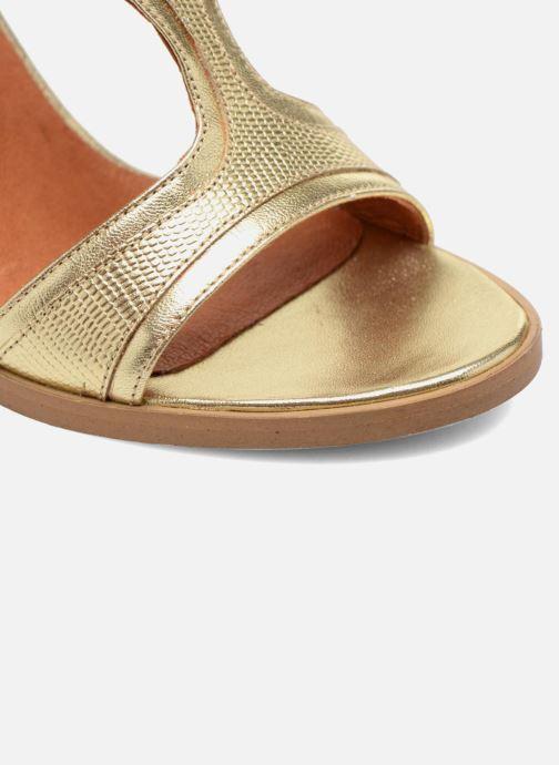 Sandalias Made by SARENZA Discow Girl #7 Oro y bronce vista lateral izquierda