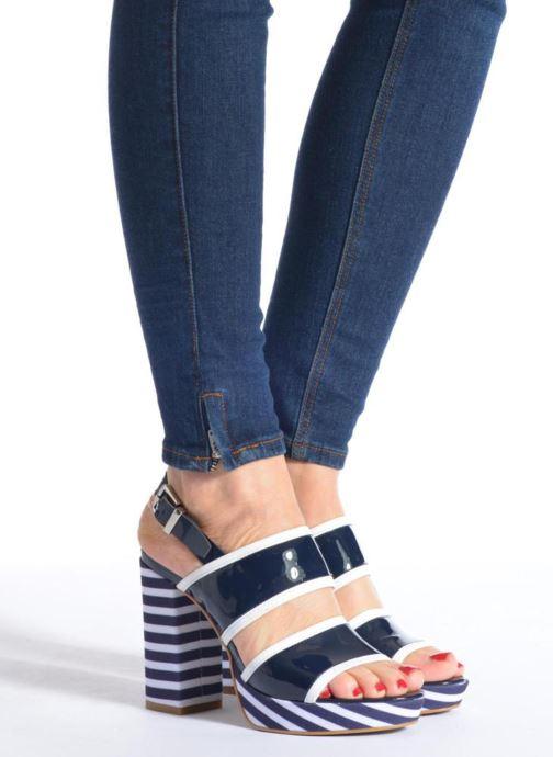 Sandalen Made by SARENZA Menthe Hello #17 Blauw onder