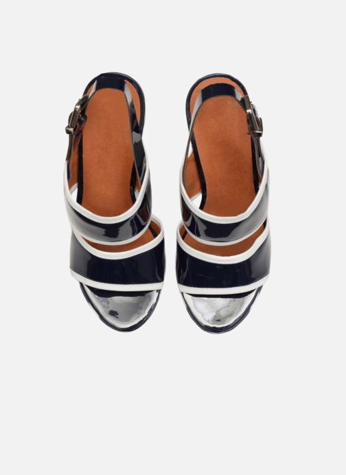 Sandalias Made by SARENZA Menthe Hello #17 Azul vista del modelo