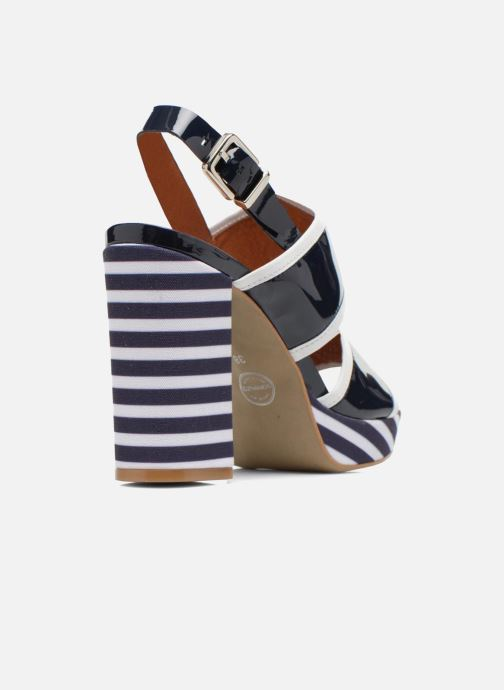 Sandalen Made by SARENZA Menthe Hello #17 Blauw voorkant
