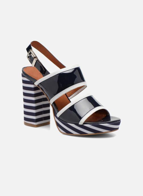 Sandalias Made by SARENZA Menthe Hello #17 Azul vista lateral derecha